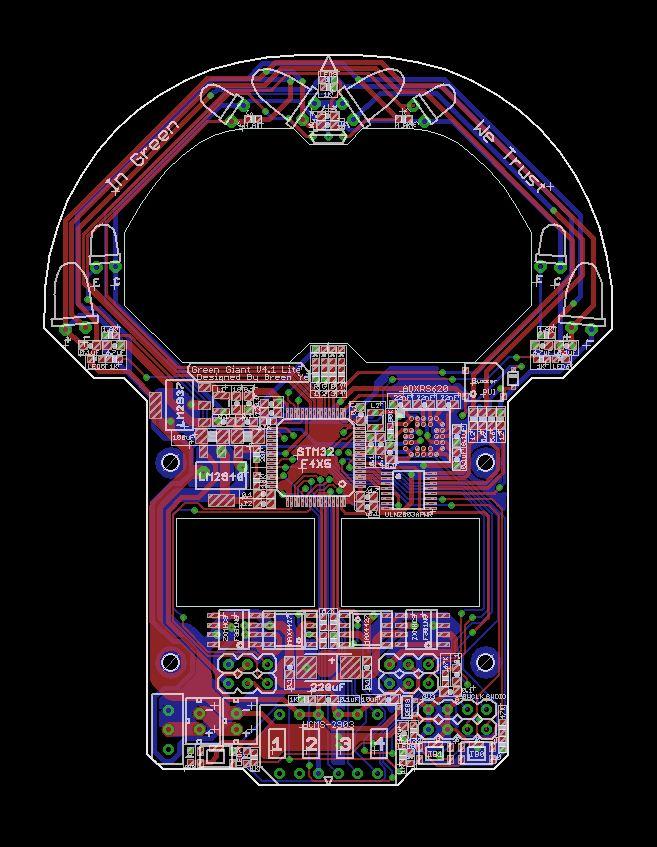 Green Giant V4.1 PCB